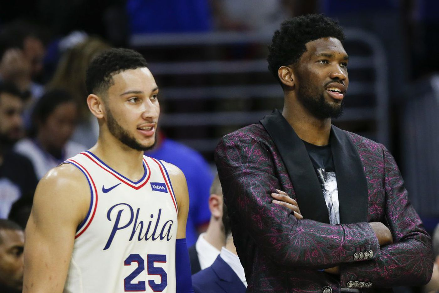 76ers need Joel Embiid back after home playoff loss to Miami | Bob Ford