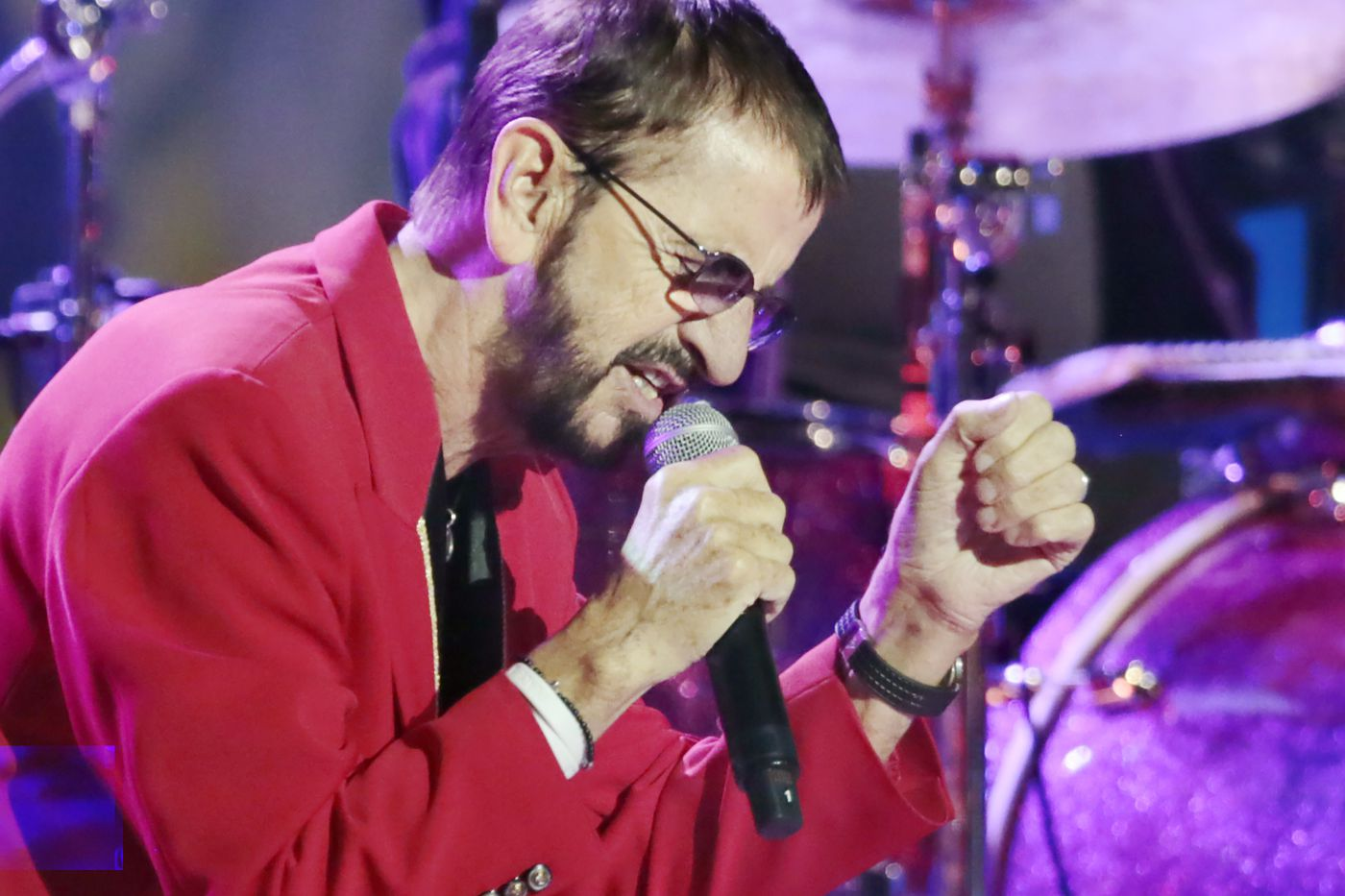 Ringo Starr, acting naturally and spreading peace and love ...