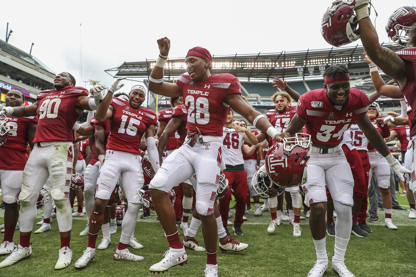 Temple earns points in both football Top 25 polls