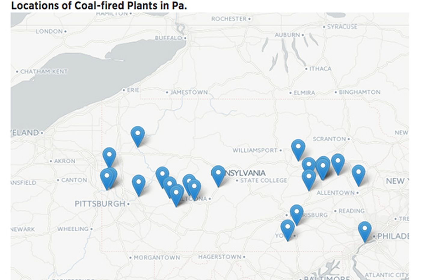 Trump Or Not Pa Coal Plants Have Long Been On The Way Out