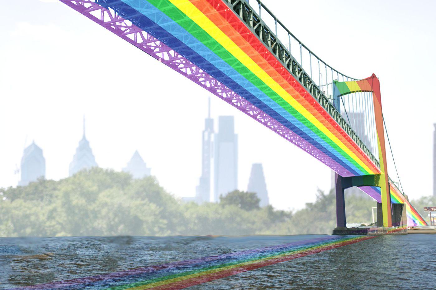 Paint the Walt Whitman Bridge rainbow to honor LGBTQ Philadelphians | Opinion