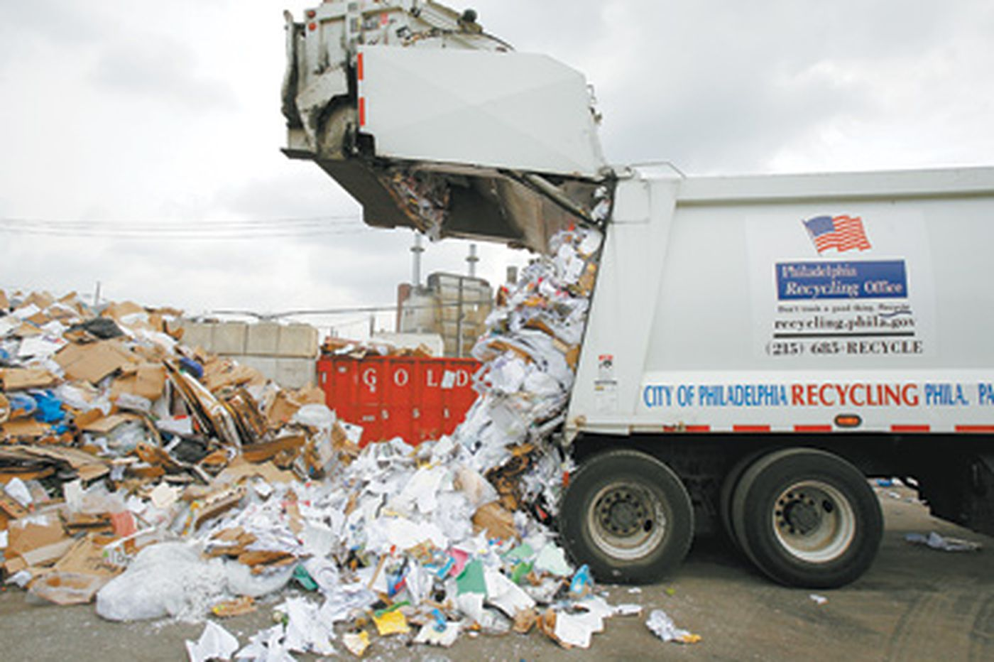 With recycling up 46%, there's talk of rewards
