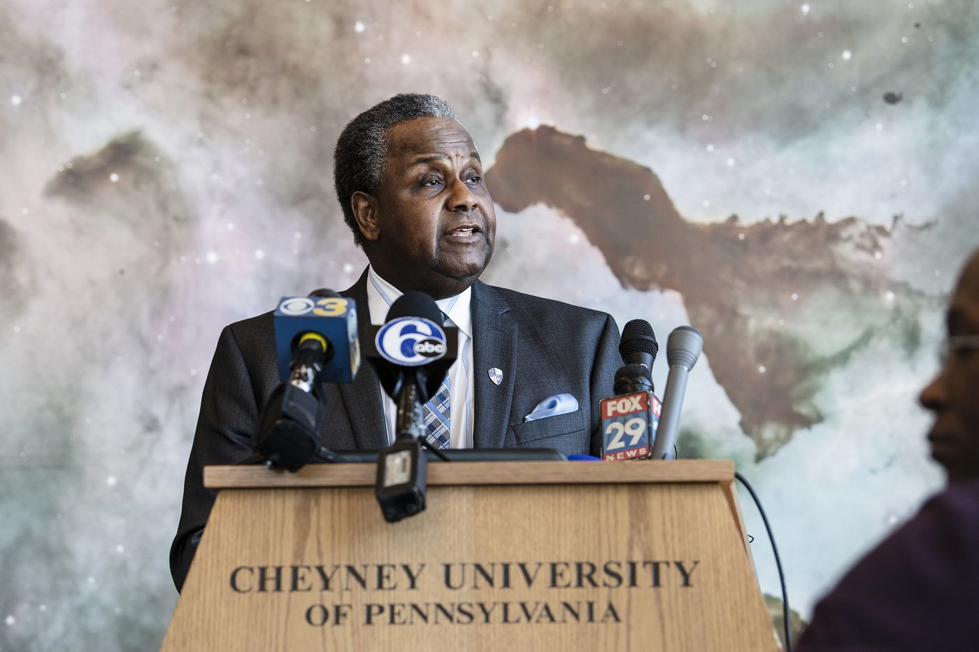 Cheyney's president vowed a balanced budget. As a crucial deadline approaches, he's optimistic.