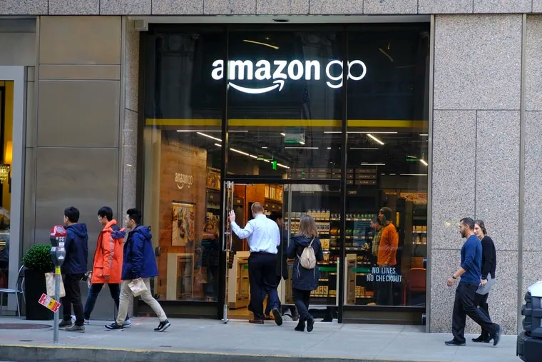 An Amazon Go store in San Francisco. Amazon warned Philadelphia that a council bill proposing a ban on cashless stores would affect its plan to consider the city for a retail location.
