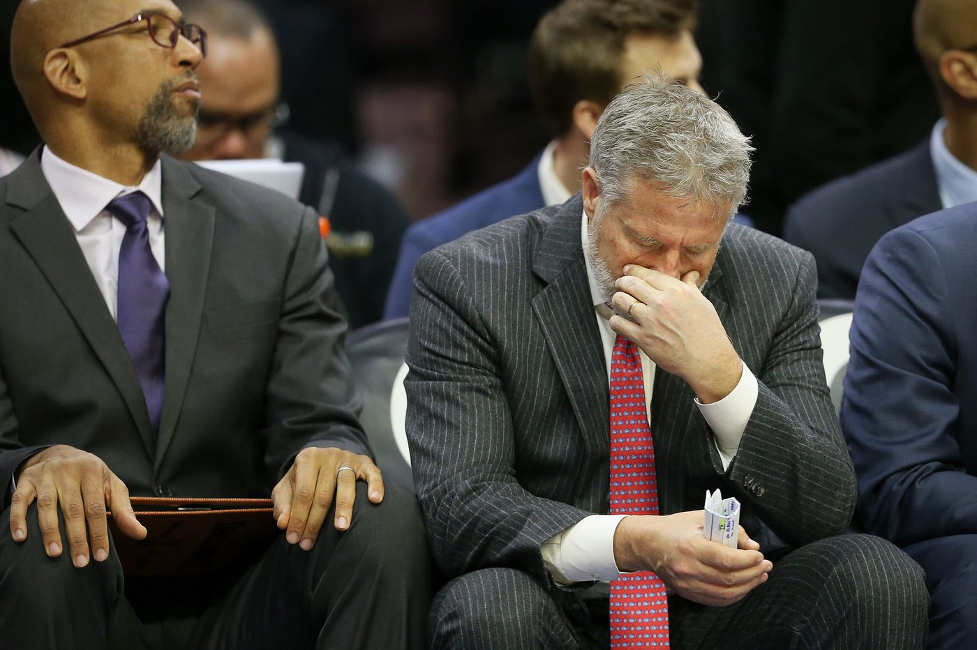 What happens to Brett Brown if the Sixers don't get their act together?