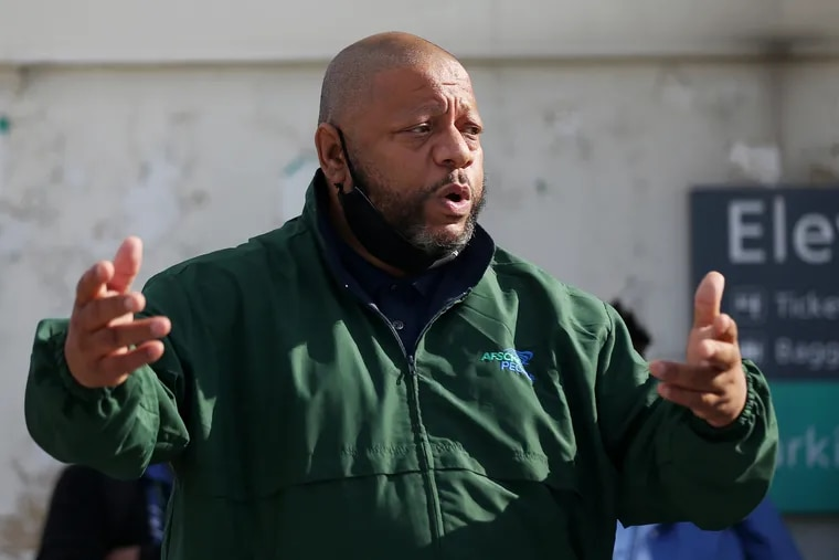Ernest Garrett, president of AFSCME District Council 33, says he will not object if Philadelphia implements a vaccine mandate for municipal workers, but wants to ensure it includes religious and medical exemptions.