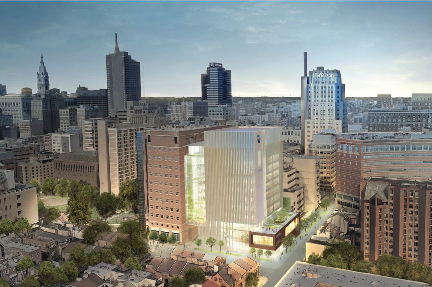 Jefferson University gets $70 million gift to help pay for new research tower in Philly