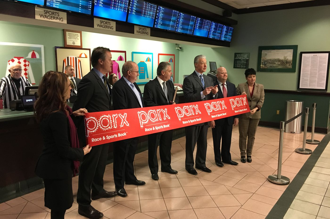 Parx Casino wants to open a satellite sportsbook at the Valley Forge Turf Club