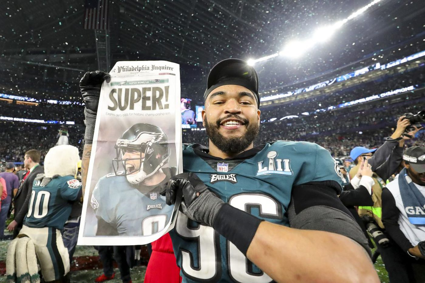 How they're feeling here and in Patriots territory: The front pages