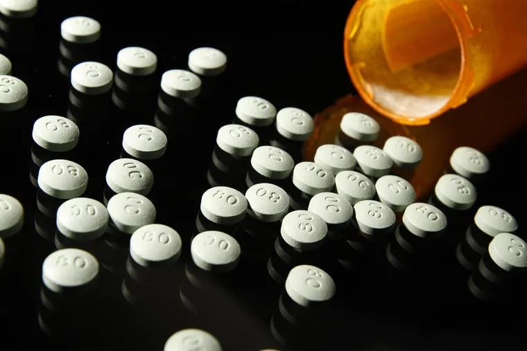 OxyContin in 80 mg pills.
