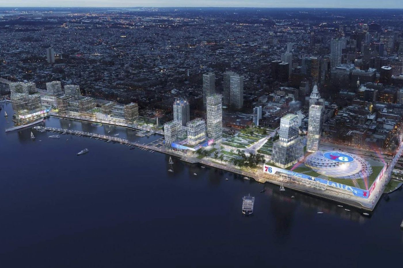 Rebuffed from Penn's Landing plan, Sixers may begin hunt for new home elsewhere in Philly