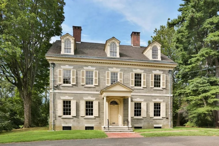 Built in 1798, Upsala was purchased by a private buyer earlier this year for $550,000, restoring the home to single-family use for the first time since the 1930s.