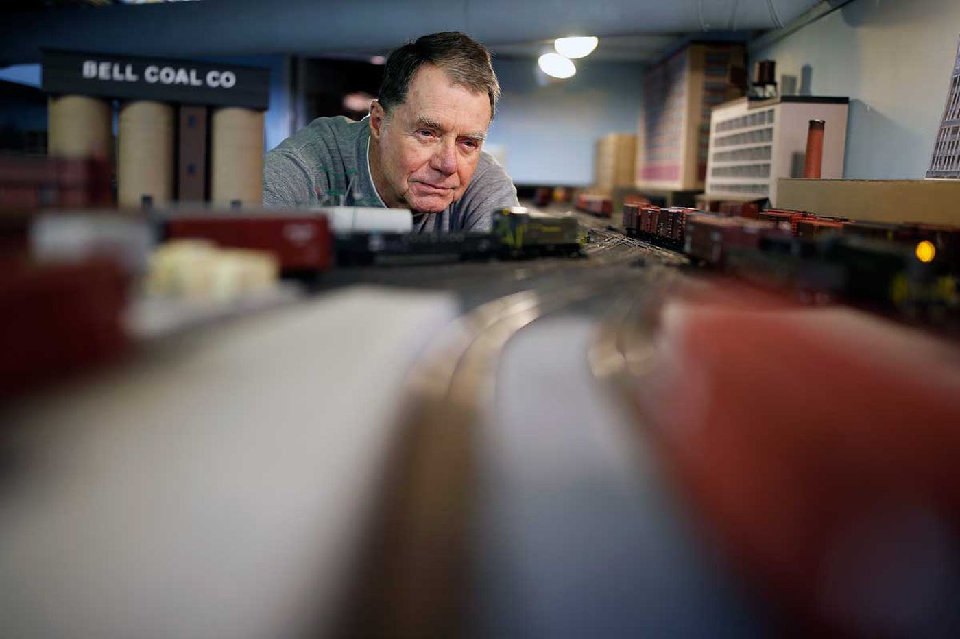 Newall: Building a bygone railroad in a Spring Garden basement
