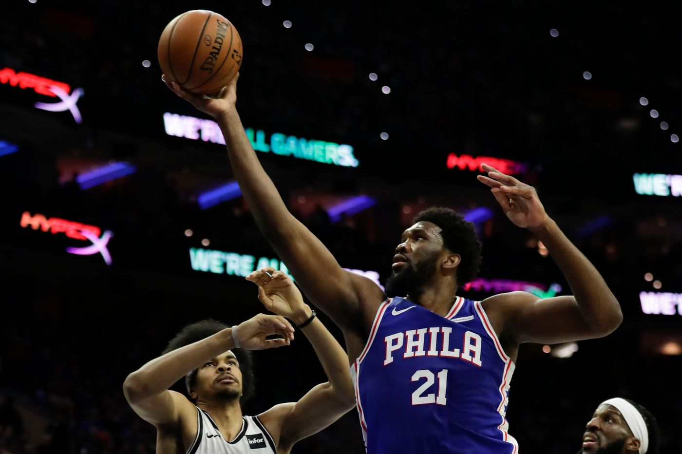 The Sixers live at the free throw line, and the Nets are sick of it