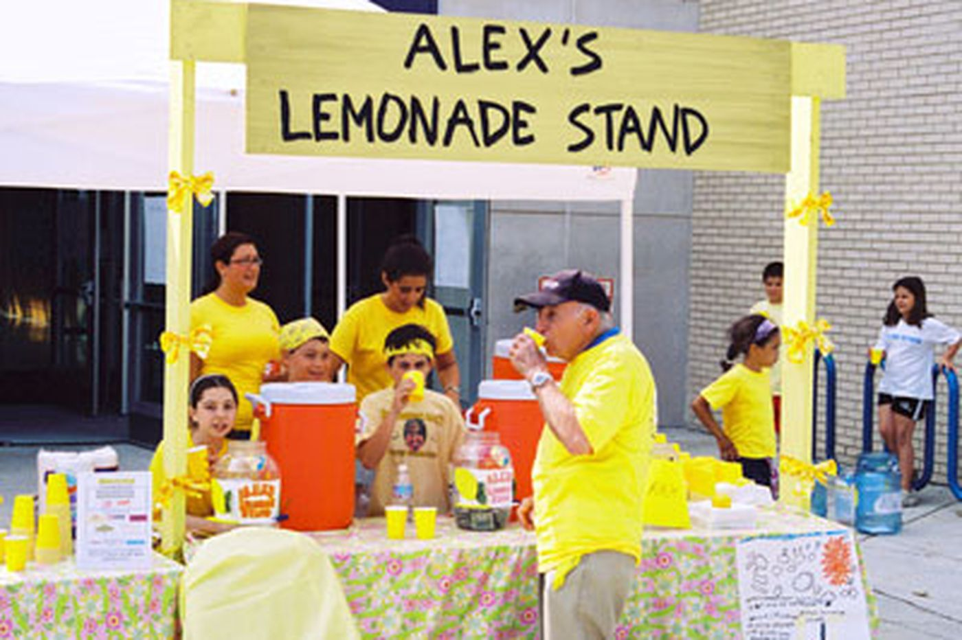 Alex's Lemonade Stand's challenge to local companies