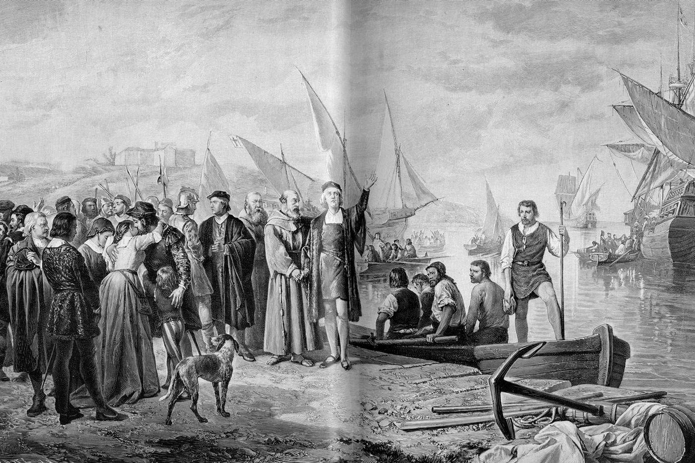 A caravan of migrants carrying smallpox? We've seen that before