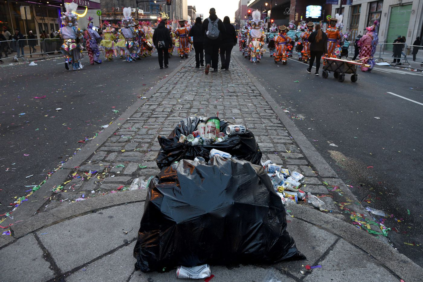 Philly spends $48 million a year to clean up litter, Pa. report finds