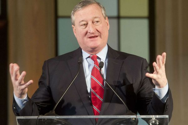 Philly Mayor Jim Kenney shrugs toward primary, with history on his side