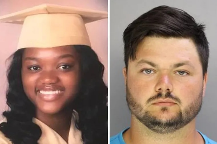 David Desper (right), was recently sentenced to up to 40 years in prison in the road-rage shooting death of 18-year-old Bianca Roberson last year in suburban Philadelphia.