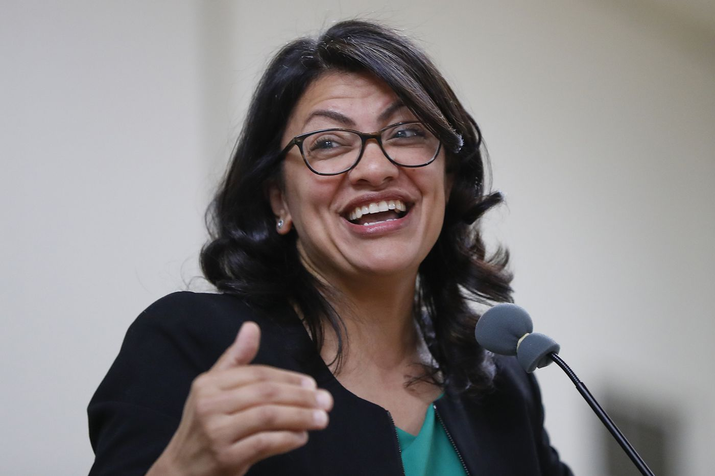 New Democratic congresswoman Rashida Tlaib makes profane vow about Trump