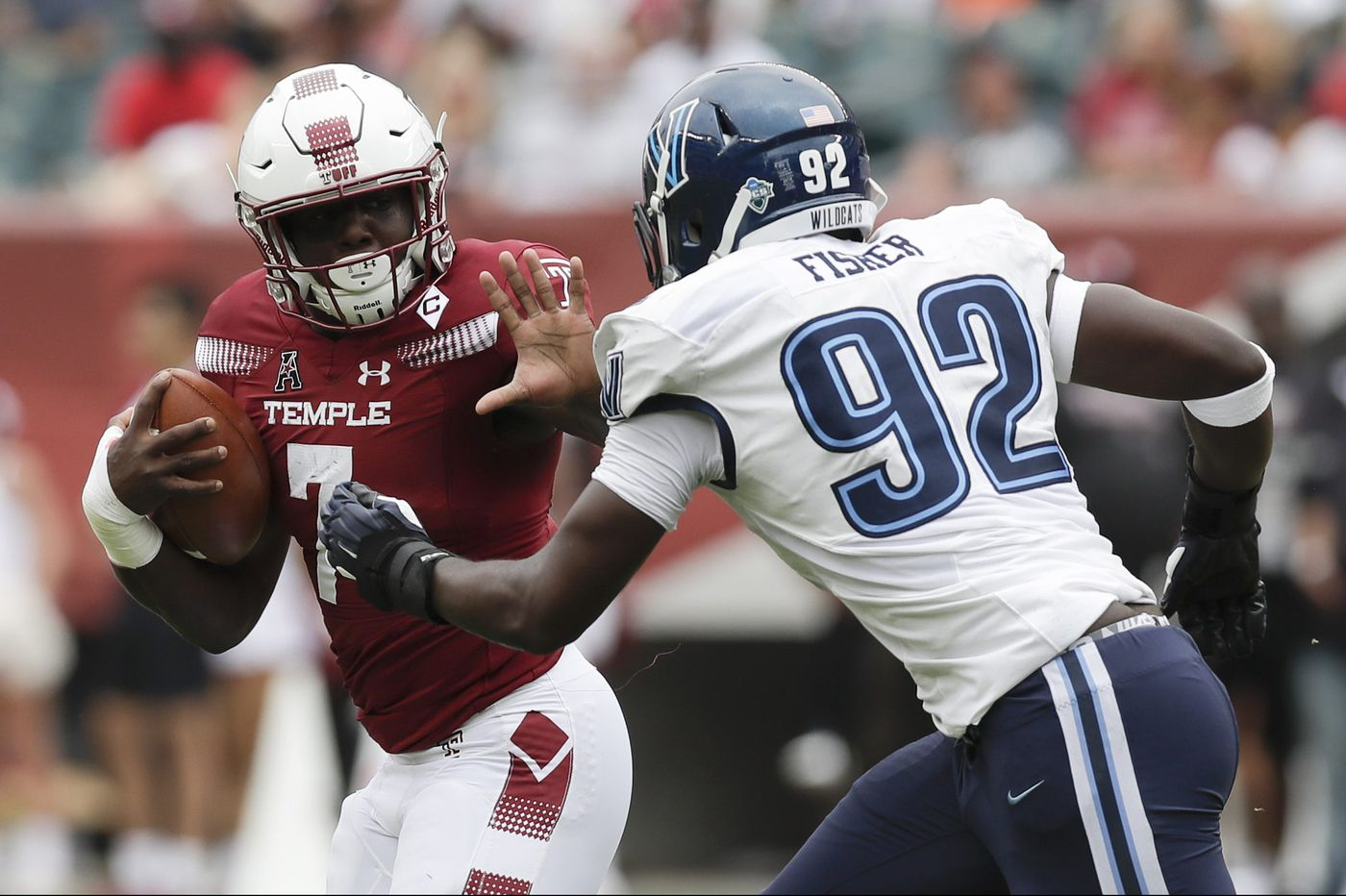 Temple and Ryquell Armstead will face an improved ECU run defense