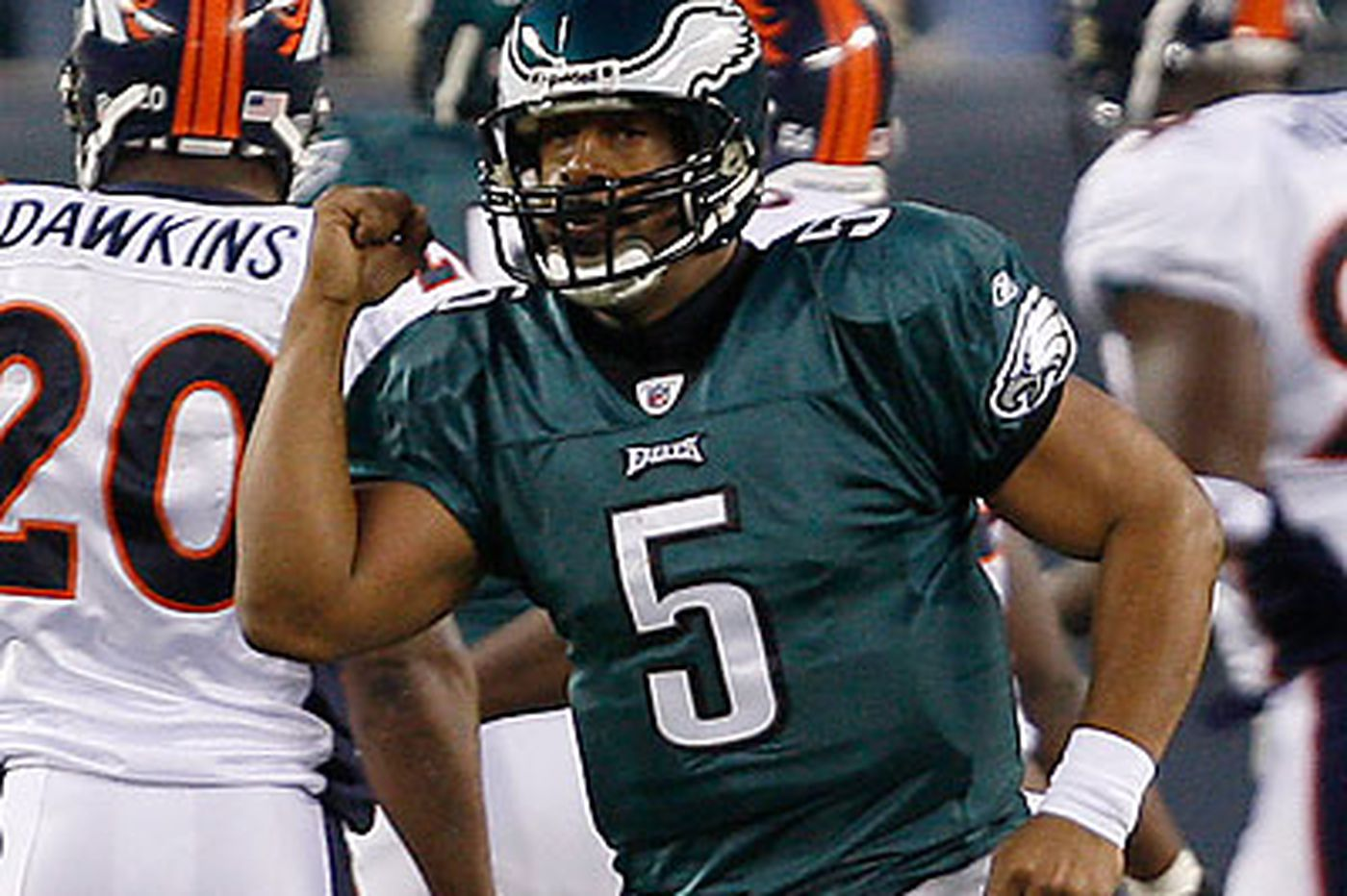 Big-game history favors McNabb