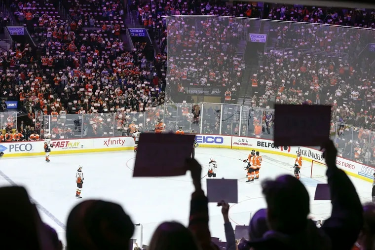 Like other NHL teams, the Flyers missed a significant revenue stream because the Wells Fargo Center, shown during a regular-season game last December, was not used for their playoff games due to the pandemic.