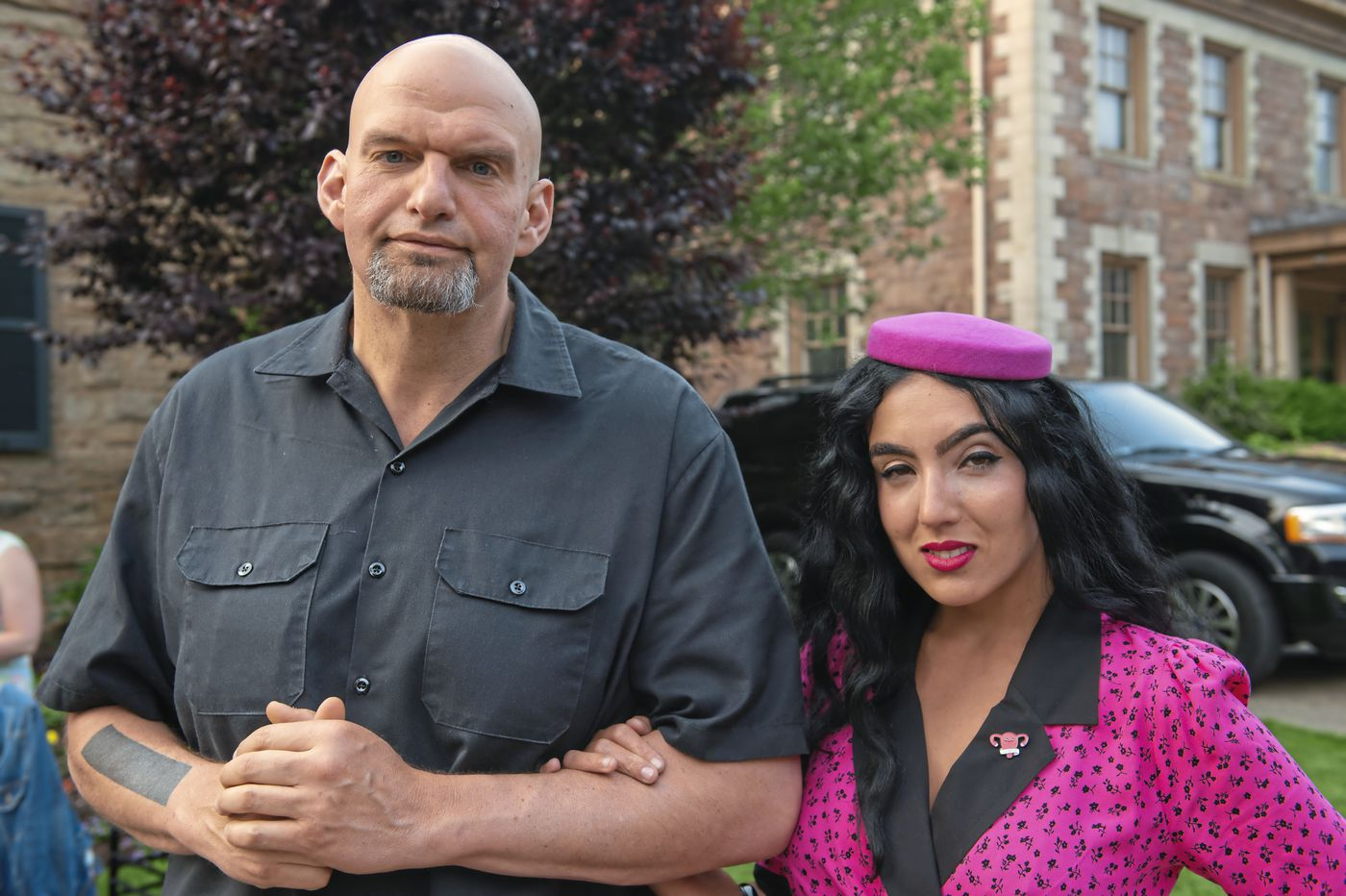Pa. second lady Gisele Barreto Fetterman films woman calling her the N-word at a grocery store