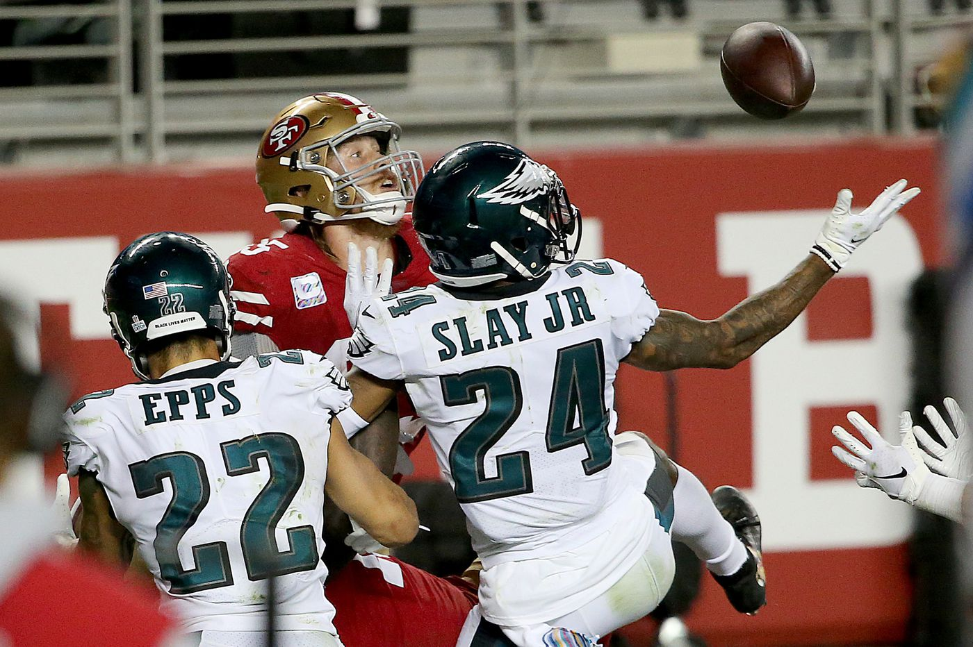Dave Fipp says the Eagles didn't get shortchanged by clock operator on the 49ers' one-second onside kick