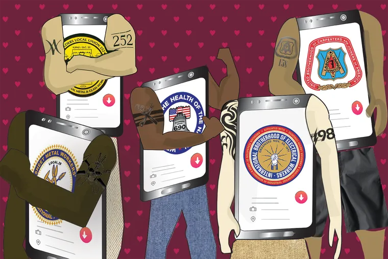 Why do men in the Philly building trades post their unions on Tinder? A labor reporter goes deep on Tinder to investigate.