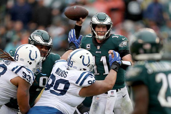 Grading Carson Wentz and the Eagles' performance in win over Colts | Paul Domowitch
