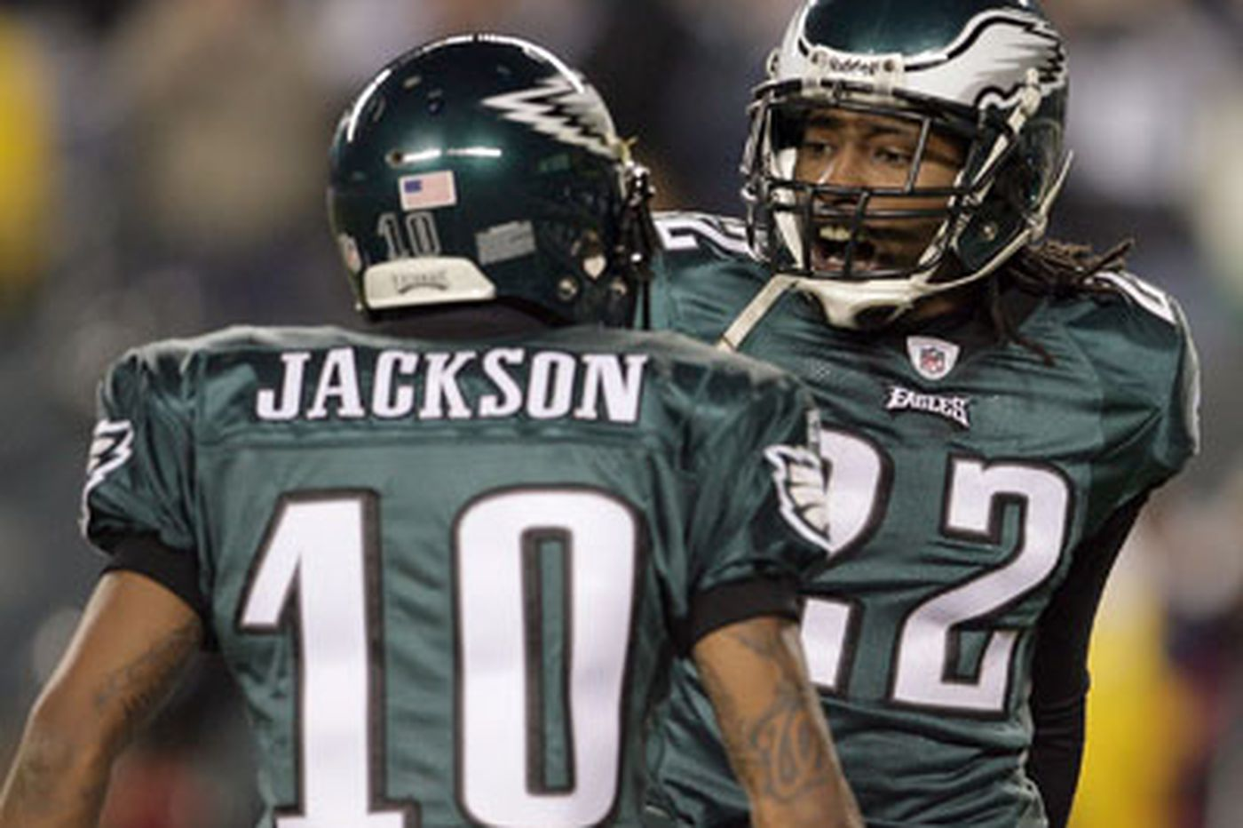 For Eagles, Jackson confident, Samuel coy, and Justice unsure