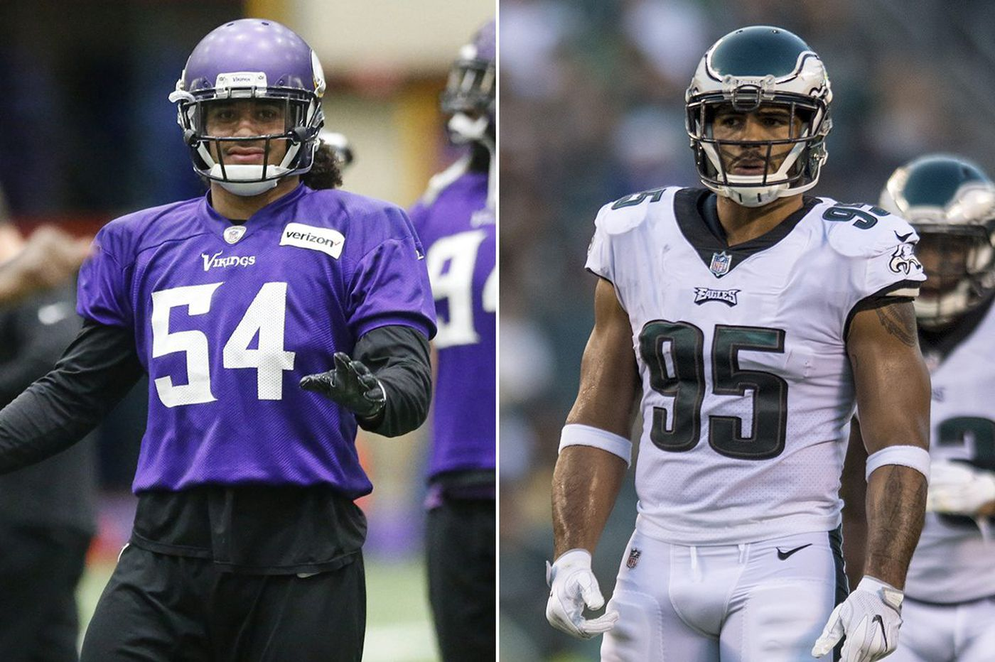 Eagles-Vikings: 10 questions for brothers Mychal and Eric Kendricks