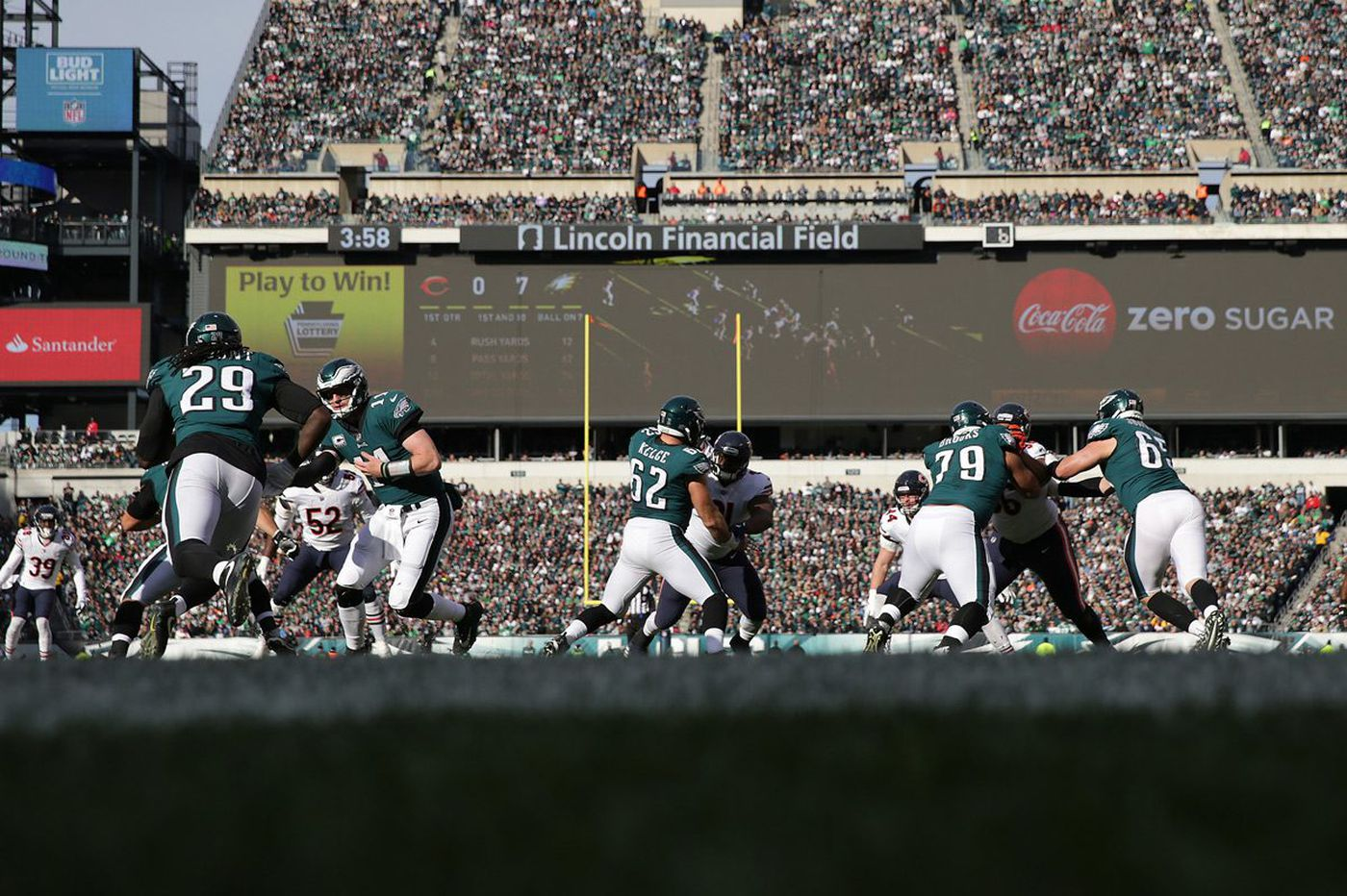 With Bears win behind them, Eagles turn attention to Seahawks   Early Birds