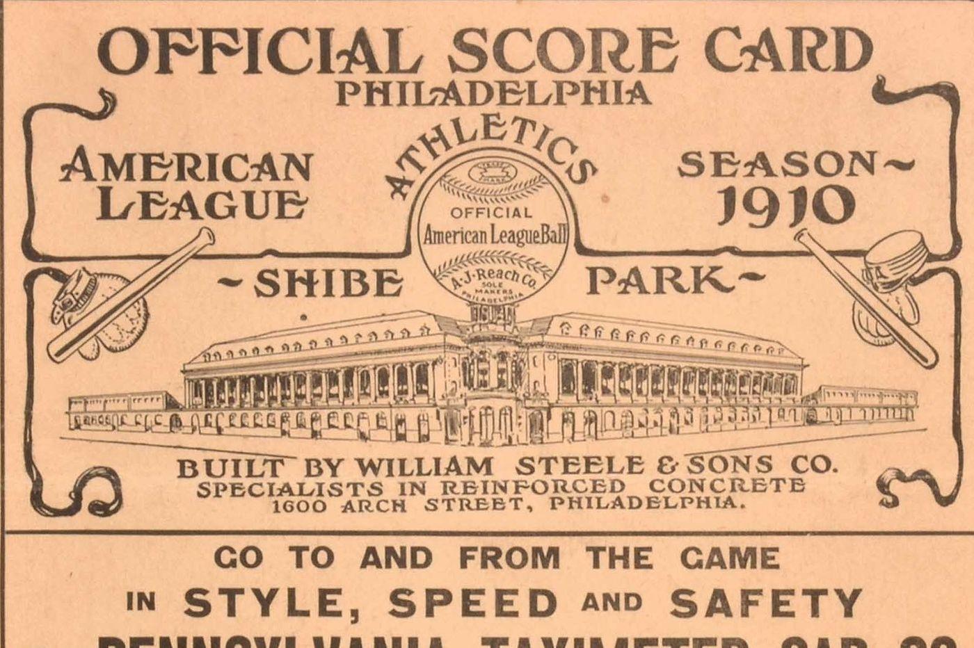 Philadelphia A's 1910 World Series program sells for $36K