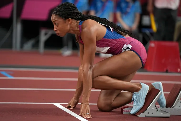 Allyson Felix can set a U.S. Olympic track record for career medals on Saturday in the women's 4x400-meter relay.
