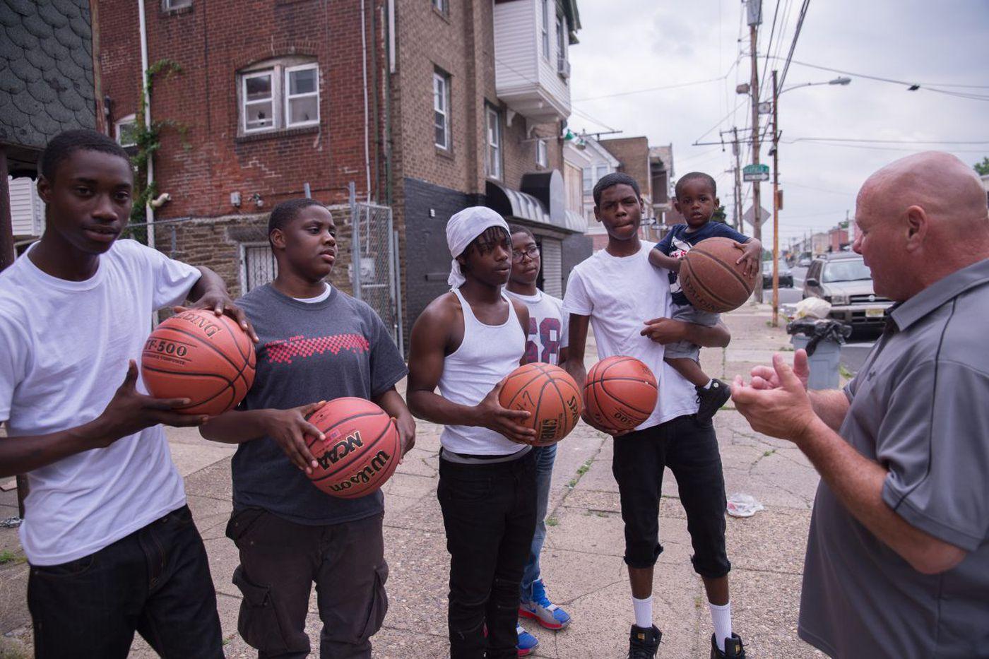 Random acts of basketball kindness in Philadelphia   Mike Jensen