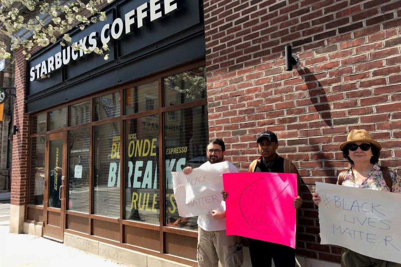 Black men's arrests at Philadelphia Starbucks prompt city probes amid national outcry