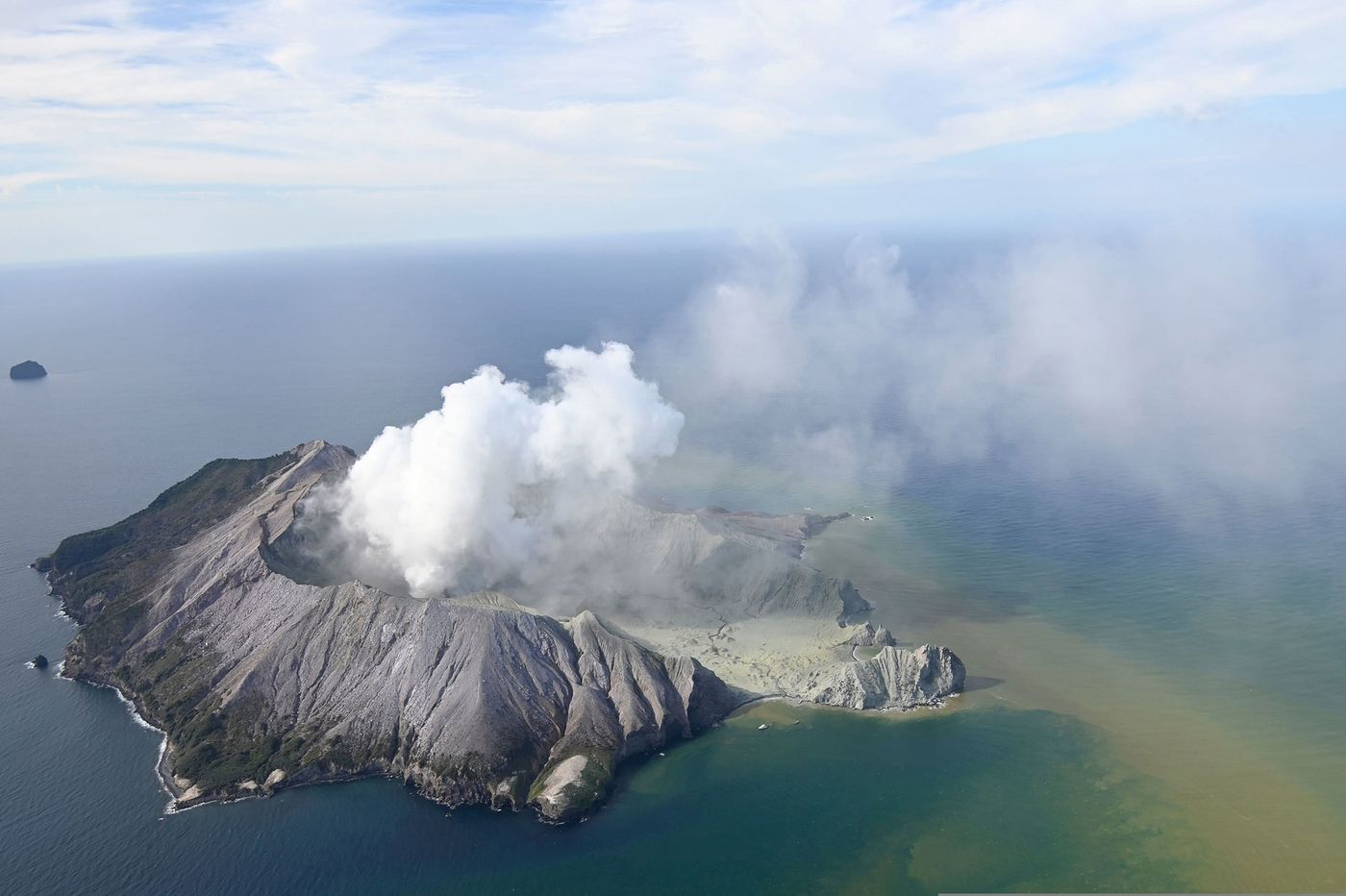 Five dead after volcano erupts off New Zealand's east coast