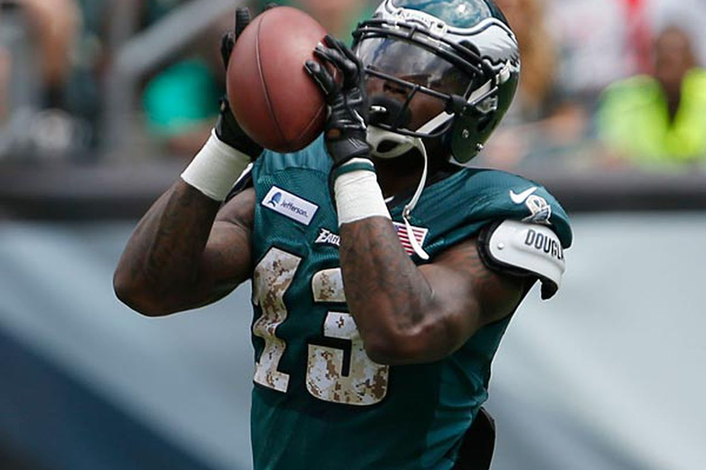 Will Josh Huff get enough chances in passing game?