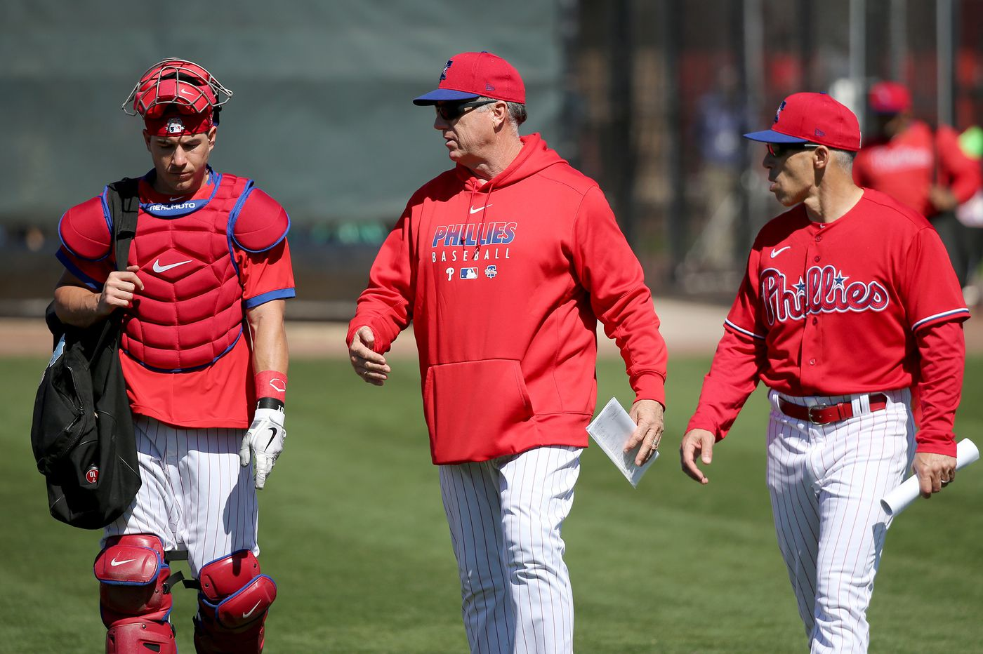 Phillies drop bullpen coach, adding to the team's busy offseason to-do list