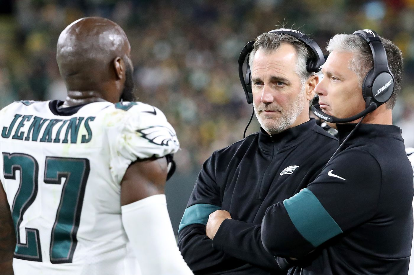Cory Undlin really got a coordinator's job? Yes, and Malcolm Jenkins endorsed the Eagles' DB coach | Marcus Ha