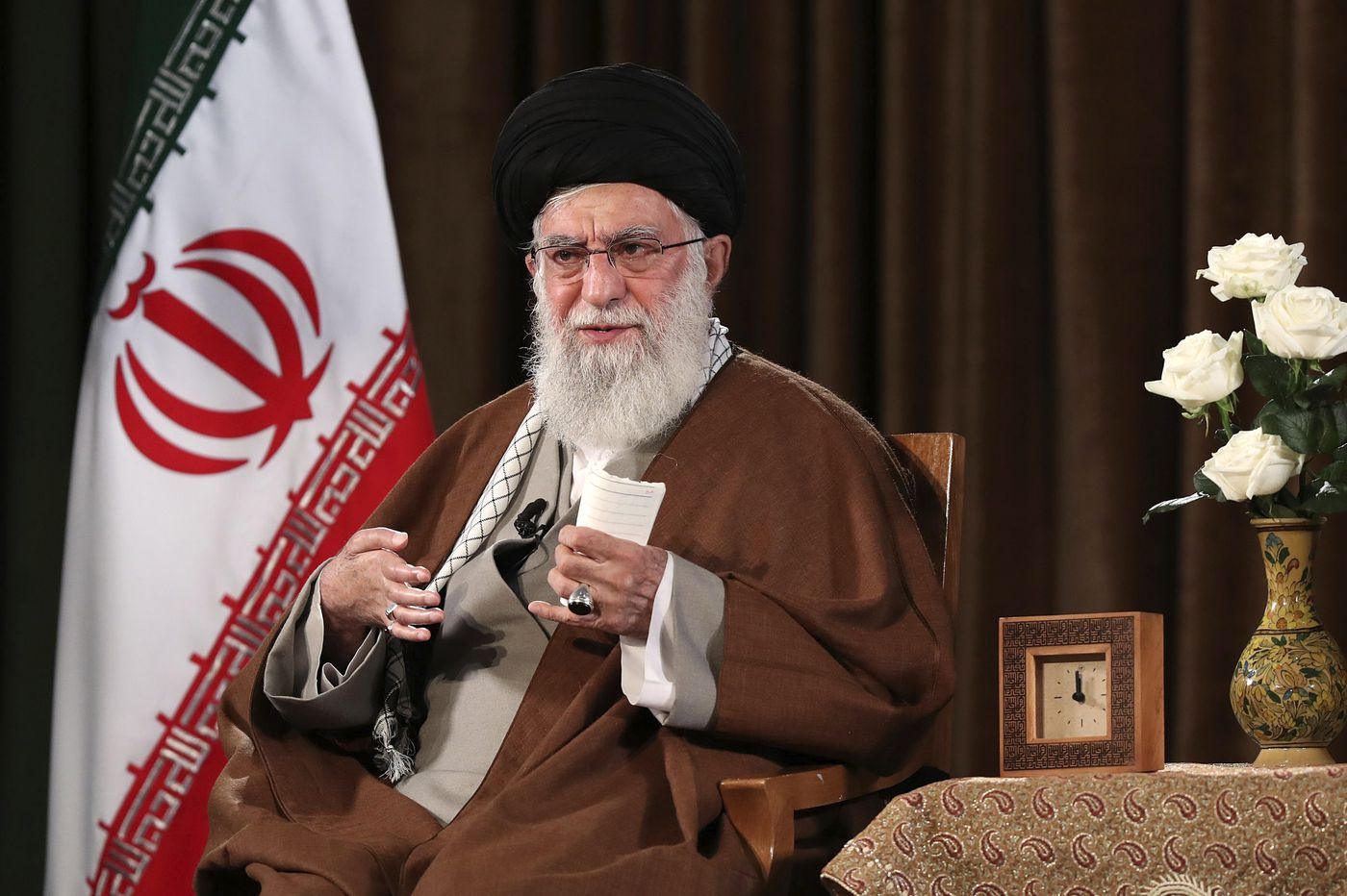 Iran leader refuses U.S. help, citing coronavirus conspiracy theory
