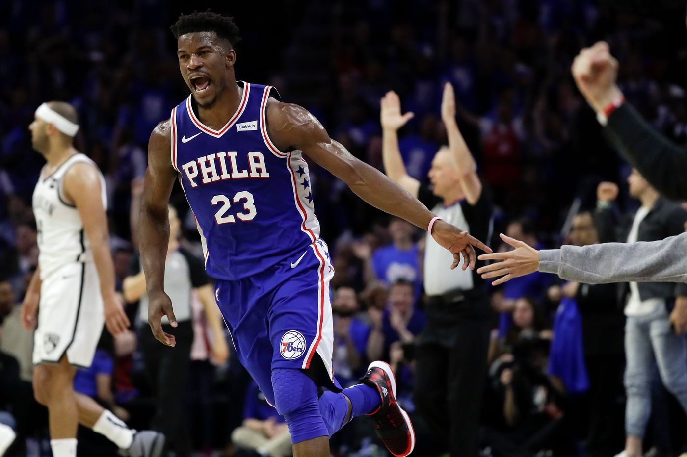 Jimmy Butler did it, but he did it alone as Sixers fall flat in NBA playoff opener against Nets | Bob Ford