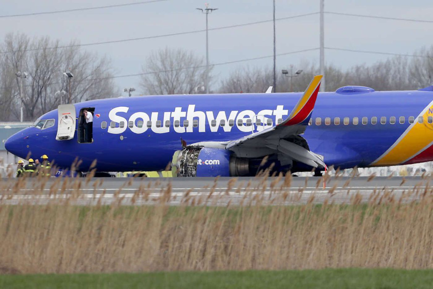 1 dead after Southwest airplane with 149 aboard makes emergency landing at Philadelphia International Airport
