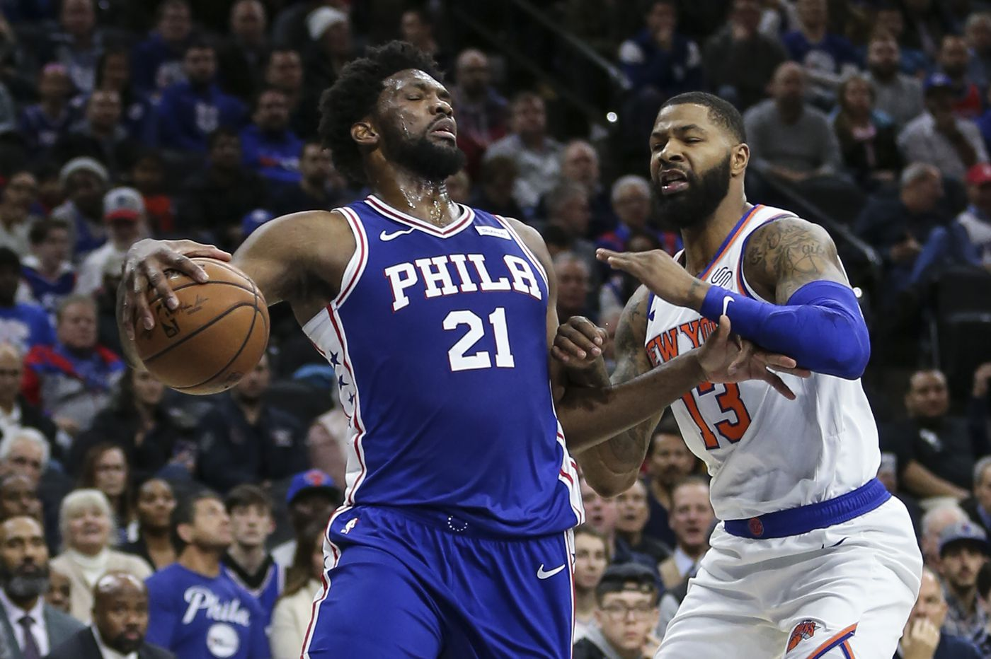 Sixers overcome 17-point deficit to beat the Knicks
