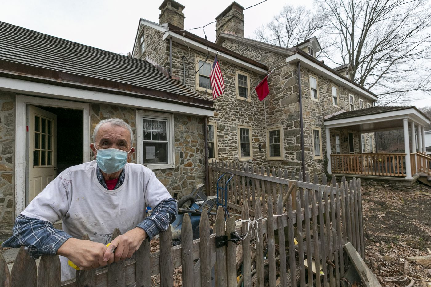 Retired teacher has become the custodian of 18th-century houses and a piece of Pennsylvania history