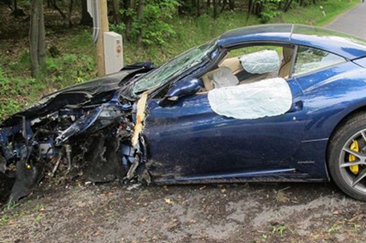 Voracek walks away from car crash