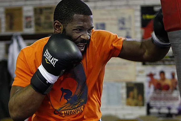 """""""I'm never scared. I'm everywhere. They aren't ever there,"""" said Bryant Jennings. """"Come on. Why would I ever care. Pound-for-pound, one of the best to ever come around here."""" (David Maialetti/Staff file photo)"""