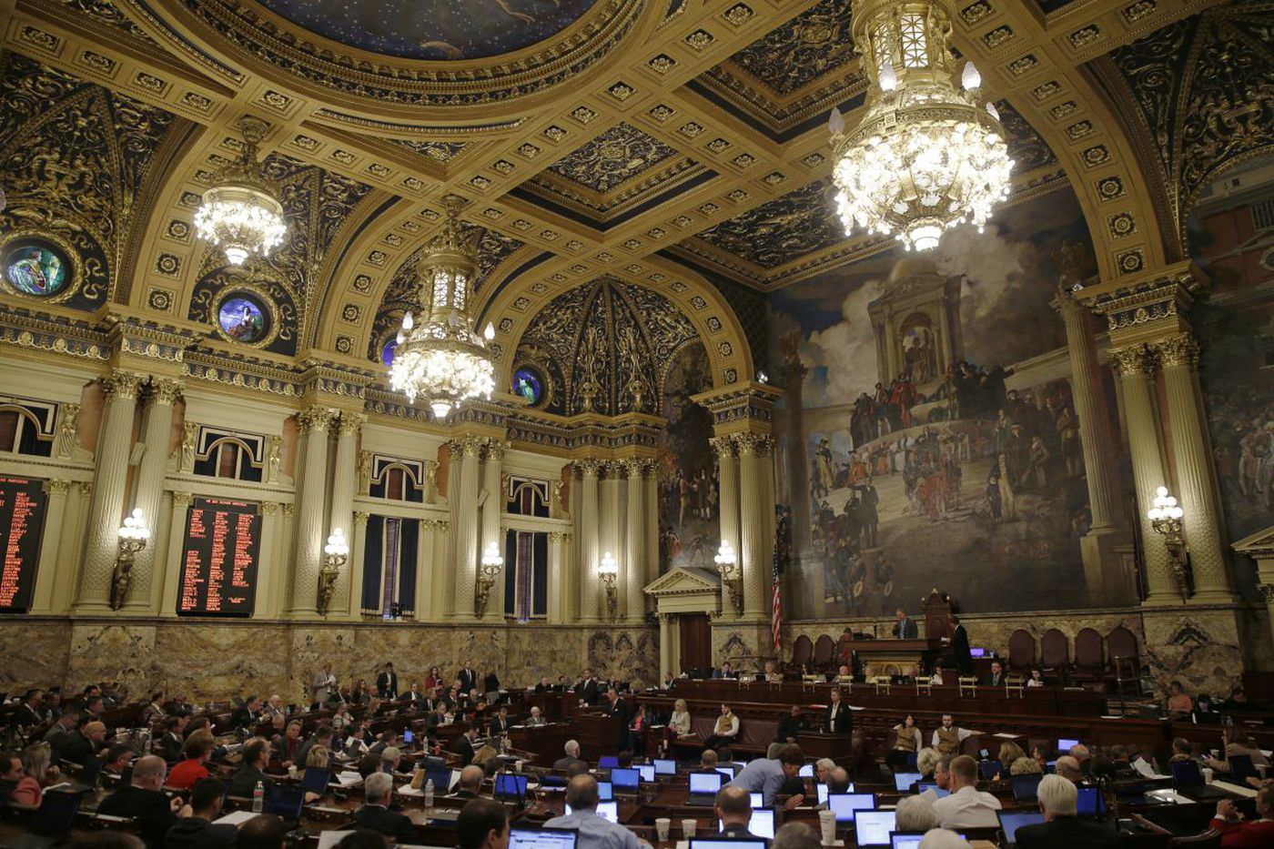 Pa. House (again) flees the chopping block